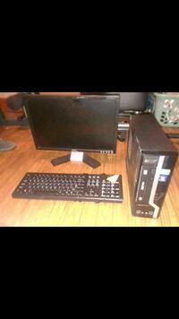 black computer tower, monitor, keyboard, and mouse Lafayette, 70508
