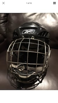 Reebok FM9500 58-63CM M/M Bauer Caged Black Official and Authentic Hockey Helmet London, N6G 2Y8