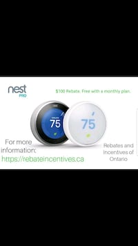 Nest Smart Home Products No Cost Estimate.  Mississauga, L5B 0H7