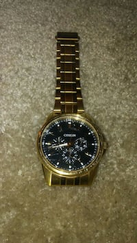 Citizen Mens stainless steel gold tone watch Owings Mills, 21117