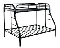 black metal bunk bed frame Wilmington, 28409