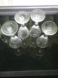 Antique crystal sherry cordials Fort Lauderdale, 33309