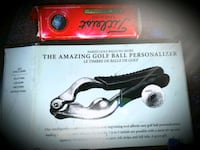 THE AMAZING GOLF BALL PERSONALIZER is brand new -never used and still  Woodbridge, 22192