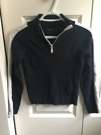 Black half-zip jacket Calgary