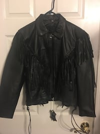 Woman's Black Leather Jacket Jacksonville