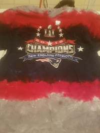New England patriots brand new t shirt size large