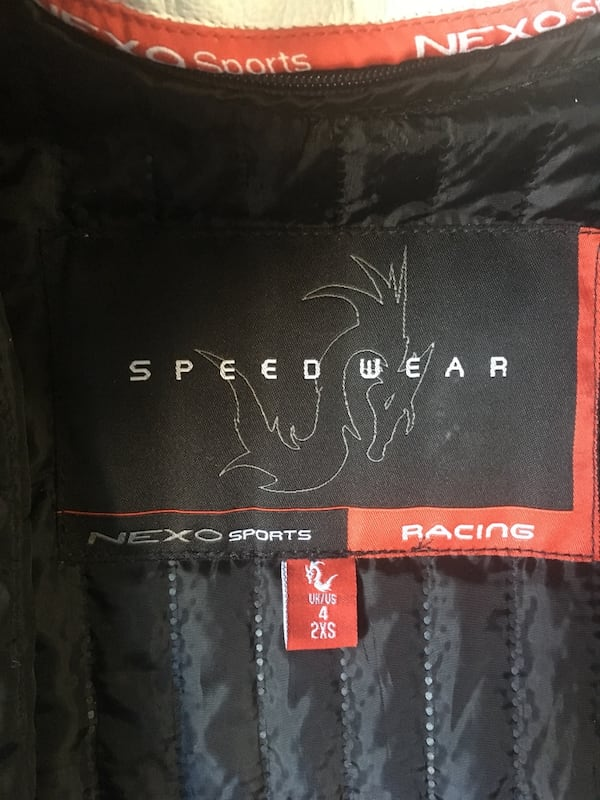 Nexo N-Force Sport Motorcycle  Leather Jacket 312c16b3-2693-4308-8a36-52f763021bcc