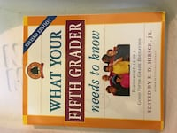 What your fifth grader needs to know book Rahway, 07065
