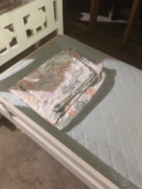 Ikea toddler bed with mattress,slatted bed base,guard rail, plus bedsheets, everything as good as new, price 45$ Harpers Ferry, 25425