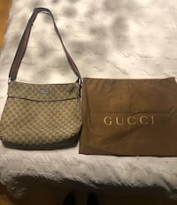 Authentic Real Gucci Cross Body Hand Bag