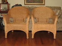 Vintage wicker chairs TORONTO