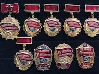 Socialist Competition Winner Medal Collection  Toronto, M4V 2B6