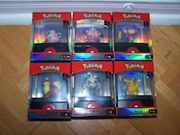 6 POKEMON complete set S3 - Select Collection NIB Vaughan