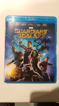 Guardians of the Galaxy Blu-ray case