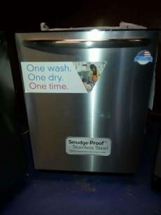 #1457 brand new Frigidaire gallery stainless dishw