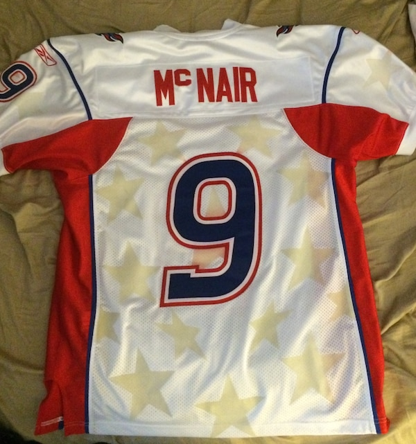 detailed look ba38d 270c5 Steve McNair Fully Authentic Pro Bowl Jersey