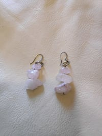 Rose Quartz Earrings  Toronto, M1C 0B1