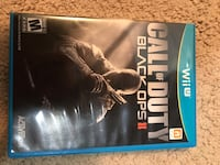 Wii u Call of duty black ops 2 game and case Bristow, 20136