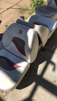 Folding seats for the speed boat Salinas, 93907