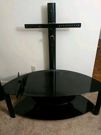 Tall glass TV mounted stand Winchester, 22602