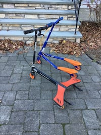 Pair of scooters power wing and go kiddo Acton, 01720