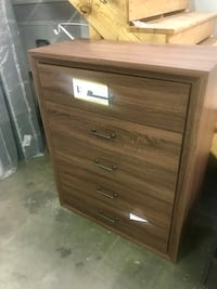Brand New Tall Chest - Walnut Wilmington