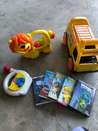 Assorted toys (movies Sold) 408 mi