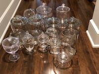 Huge lot of jars - candy table, wedding + Toronto, M4S