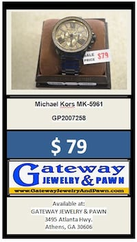 Michael Kors MK-5961 watch Athens