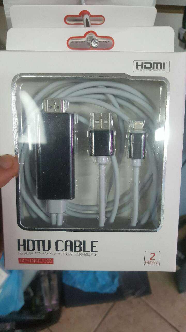how to connect iphone hdmi to laptop