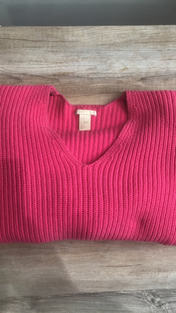 HM Hot Pink Sweater