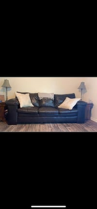 Brown Leather Couch Brunswick, 31520