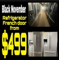 Refrigerator French Door from