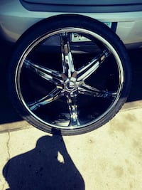 26' rims comes with a *Fifth wheel* its *BrandNew* Urbana