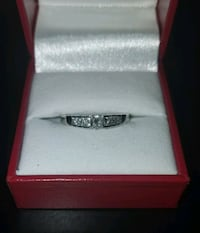 14kWhite Gold/Princess Cut/Diamond Engagement Ring!