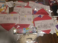 7 tic tac toe hearts and carnival shark craft  Indianapolis, 46203