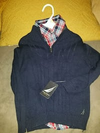 Nautica oxford sweater along with flannel  Arlington, 22204