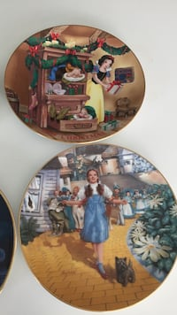 Man and woman ceramic decorative plate Rocky Point, 11778