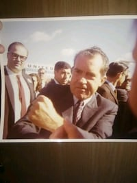 One of a kind photo of President Nixon Sioux Falls, 57110