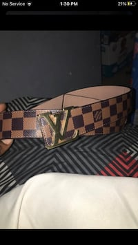 Girls lv belt