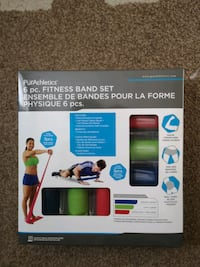 6 piece fitness bands