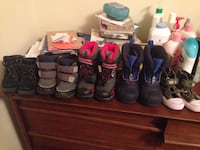 Lots of size 6 toddlers winter boot