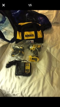 Dewalt 20vmax impact drill w/charger and two batteries Germantown, 20876