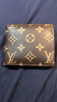 brown Louis Vuitton leather wallet Los Angeles, 90026