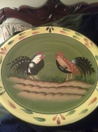 Rooster plate 551 km