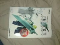 Final Fantasy 7 Strategy Guide Official Lockport, 14094