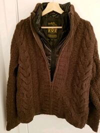 Buffalo Men's Cardigan with inside Vest,  Medium  Montréal, H4N 0B6