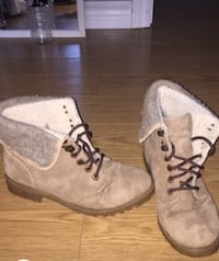 pair of brown suede boots Dartmouth, B2V 1L6