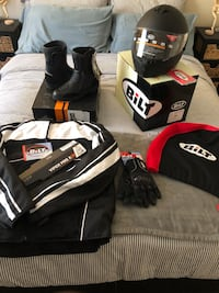 BLITZ Motorcycle Gear for Sale. New with tags, never used, and storage kept. San Diego, 92127