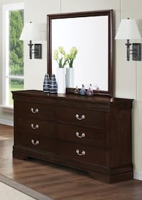 New dresser with mirror tax included free delivery 2395 mi